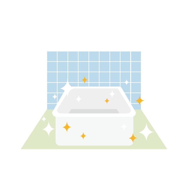 トイレ、お風呂場、洗濯機などの除菌消臭